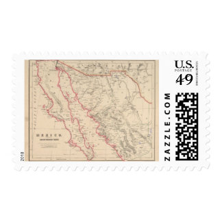 Mexico, Northwestern States Stamps