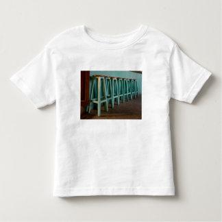 Mexico, Oaxaca, Green Bar Stools line wall T Shirt