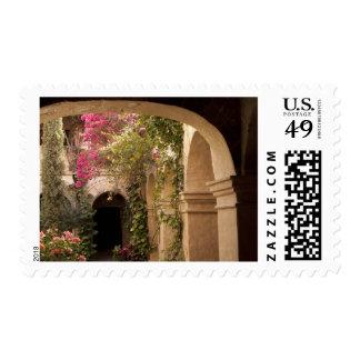 Mexico, Oaxaca Province, Oaxaca, courtyard of Postage