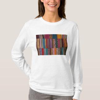 Mexico, Oaxaca Province, Oaxaca, woven belts on T-Shirt