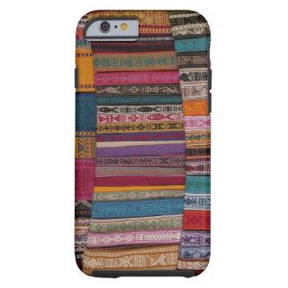 Mexico, Oaxaca Province, Oaxaca, woven belts on Tough iPhone 6 Case