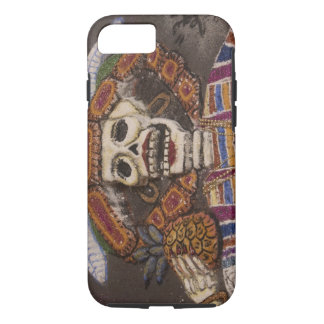 Mexico, Oaxaca. Sand tapestry (tapete de arena) iPhone 8/7 Case