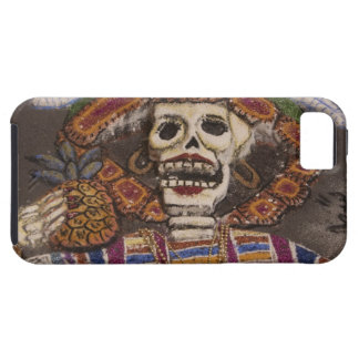 Mexico, Oaxaca. Sand tapestry (tapete de arena) iPhone SE/5/5s Case