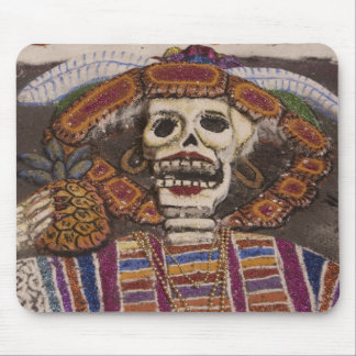 Mexico, Oaxaca. Sand tapestry (tapete de arena) Mouse Pad