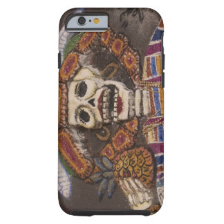 Mexico, Oaxaca. Sand tapestry (tapete de arena) Tough iPhone 6 Case