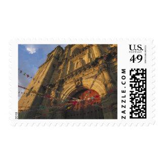 Mexico, Oaxaca, Templo de San Felipe de Neri 2 Postage Stamp