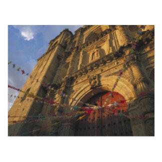 Mexico, Oaxaca, Templo de San Felipe de Neri 2 Postcard