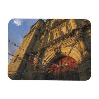 Mexico Oaxaca Templo de San Felipe de Neri 2 Rectangle Magnet