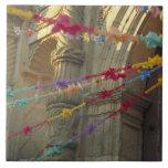 México, Oaxaca, Templo de San Felipe de Neri Azulejo Cuadrado Grande