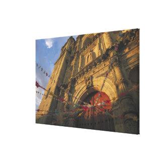 Mexico, Oaxaca, Templo de San Felipe de Neri Canvas Print