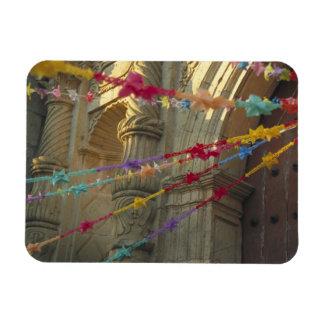 Mexico Oaxaca Templo de San Felipe de Neri Rectangular Magnet