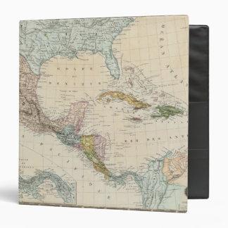 """México, Panamá, America Central Carpeta 1 1/2"""""""