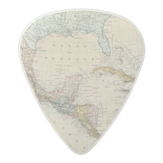 Mexico, Panama, Central America Acetal Guitar Pick