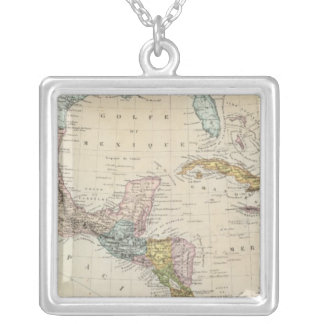 Mexico, Panama, Central America Silver Plated Necklace