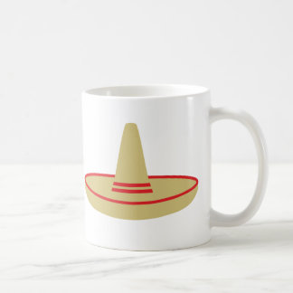mexico party sombrero classic white coffee mug