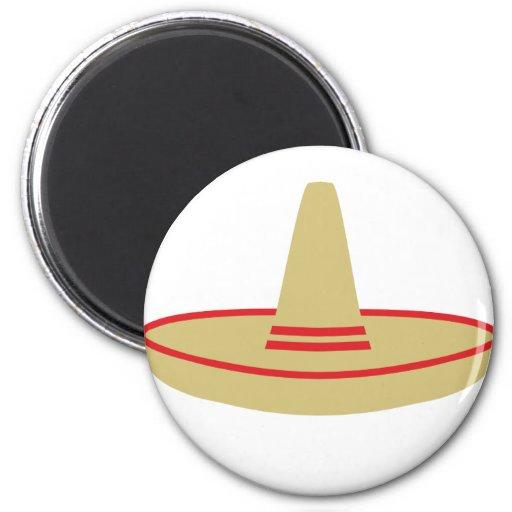 mexico party sombrero fridge magnets