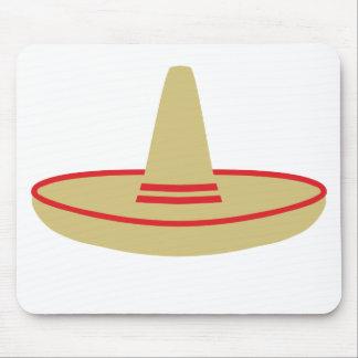 mexico party sombrero mouse pad