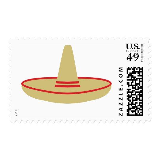 mexico party sombrero postage
