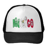 Mexico Peace Letters Hats