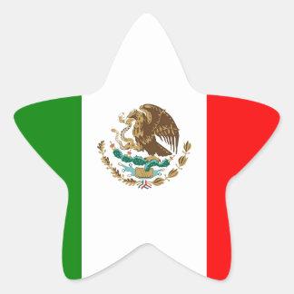 México Pegatina En Forma De Estrella