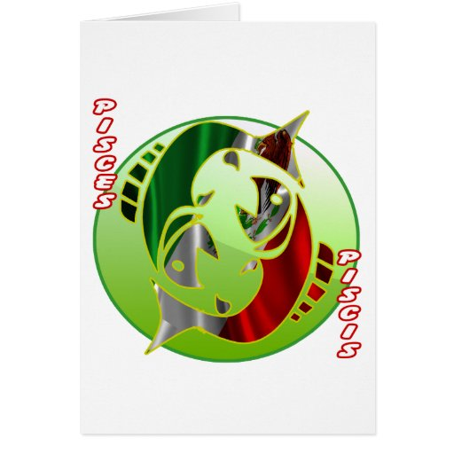 MEXICO PISCES HOROSCOPES PRODUCTS CARD