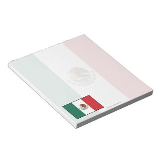 Mexico Plain Flag Note Pad