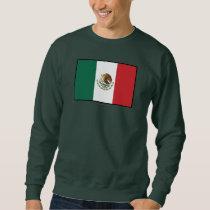 Mexico Plain Flag Sweatshirt