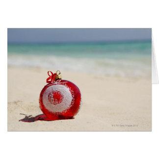 Mexico, Playa Del Carmen, christmas decoration Card