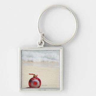 Mexico, Playa Del Carmen, christmas decoration Key Chain