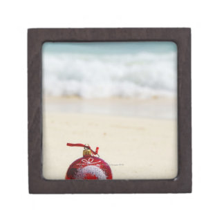 Mexico, Playa Del Carmen, christmas decoration Premium Keepsake Boxes
