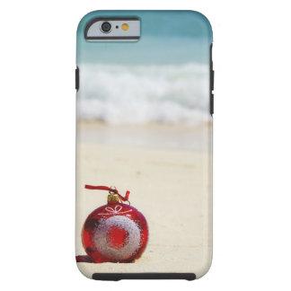 México, Playa del Carmen, decoración del navidad Funda De iPhone 6 Tough