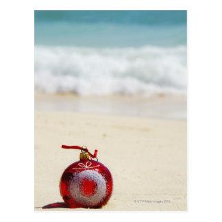México, Playa del Carmen, decoración del navidad Postal