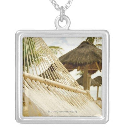 México, Playa del Carmen, hamaca en la playa Collares Personalizados