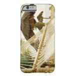 México, Playa del Carmen, hamaca en la playa Funda De iPhone 6 Barely There