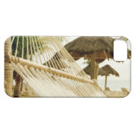 Mexico, Playa Del Carmen, hammock on beach iPhone 5 Cases
