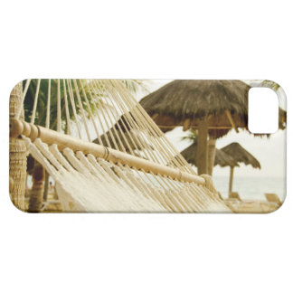 Mexico, Playa Del Carmen, hammock on beach iPhone 5 Covers