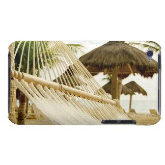 Mexico, Playa Del Carmen, hammock on beach Case-Mate iPod Touch Case
