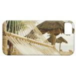 Mexico, Playa Del Carmen, hammock on beach iPhone 5 Case