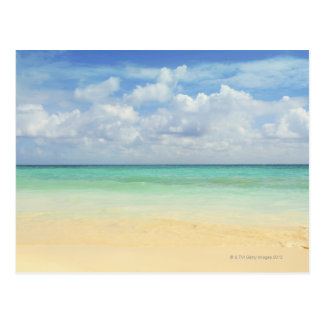 México, Playa del Carmen, paisaje marino 2 Postales