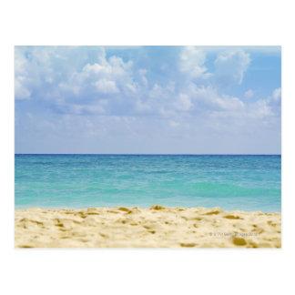 México, Playa del Carmen, paisaje marino 4 Tarjeta Postal