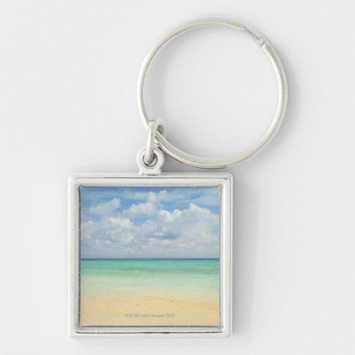 Mexico, Playa Del Carmen, seascape 2 Keychains