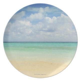Mexico, Playa Del Carmen, seascape 2 Melamine Plate
