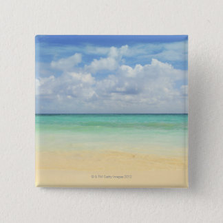 Mexico, Playa Del Carmen, seascape 2 Pinback Button