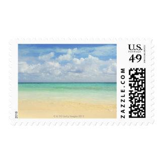 Mexico, Playa Del Carmen, seascape 2 Postage