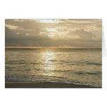 Mexico, Playa Del Carmen, seascape 3 Card