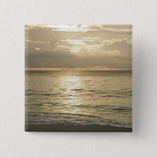 Mexico, Playa Del Carmen, seascape 3 Pinback Button