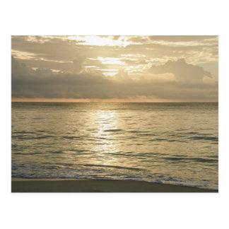 Mexico, Playa Del Carmen, seascape 3 Postcard