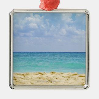 Mexico, Playa Del Carmen, seascape 4 Metal Ornament