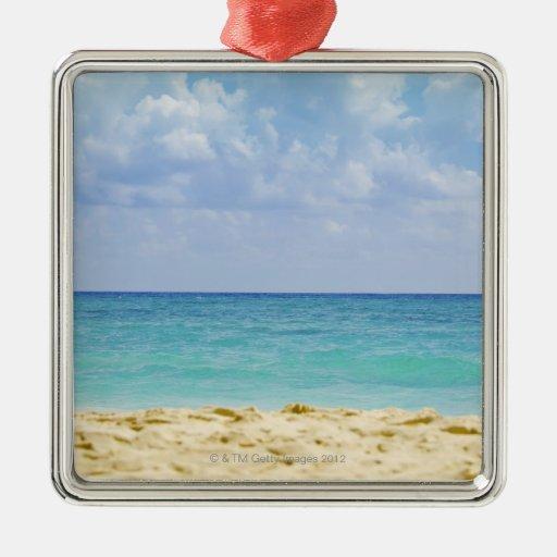 Mexico, Playa Del Carmen, seascape 4 Ornament