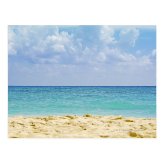 Mexico, Playa Del Carmen, seascape 4 Postcard